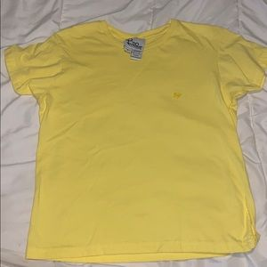 Lilly Pulitzer Small Yellow t shirt with Palm Tree